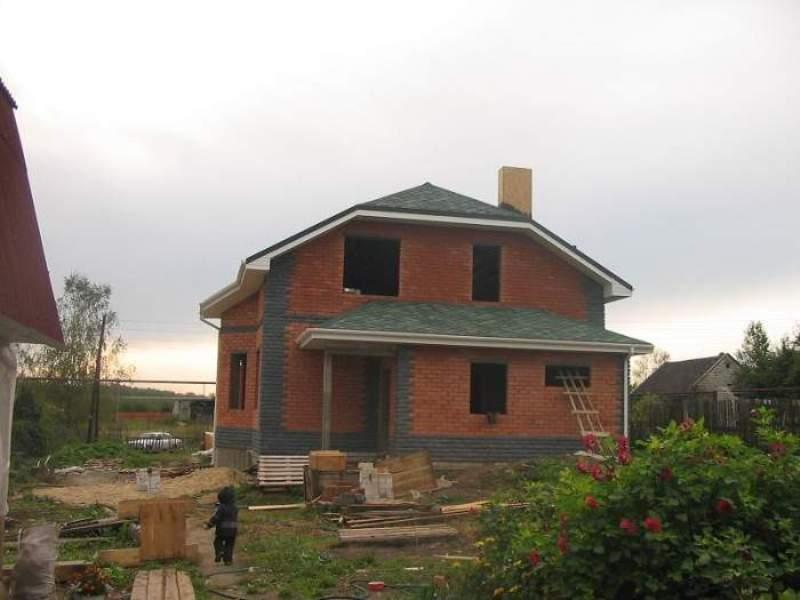 Строительство домов из пеноблоков фото